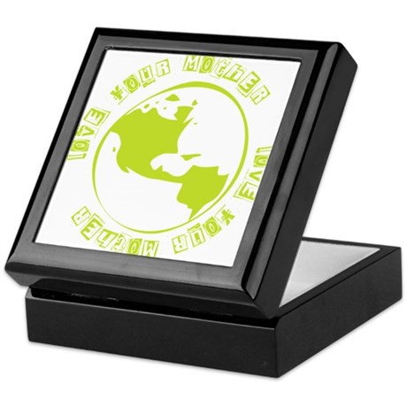 Love Your Mother Earth T Keepsake Box