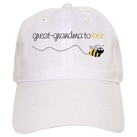 great grandma to be t-shirt Cap