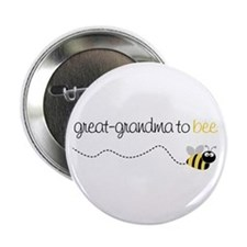 "great grandma to be t-shirt 2.25"" Button"