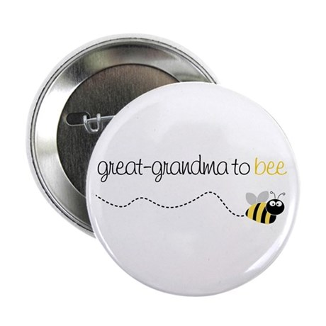 """great grandma to be t-shirt 2.25"""" Button"""