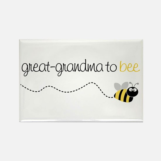 great grandma to be t-shirt Rectangle Magnet