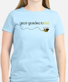 great grandma to be t-shirt T-Shirt