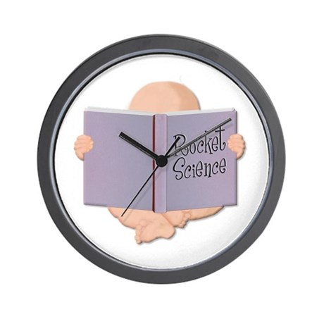 Brainy Baby Designs Wall Clock