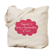 A Grandmother of Twins Tote Bag