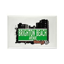 BRIGHTON BEACH AVENUE,BROOKLYN, NYC Rectangle Magn