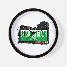 BRIGHTON BEACH AVENUE,BROOKLYN, NYC Wall Clock