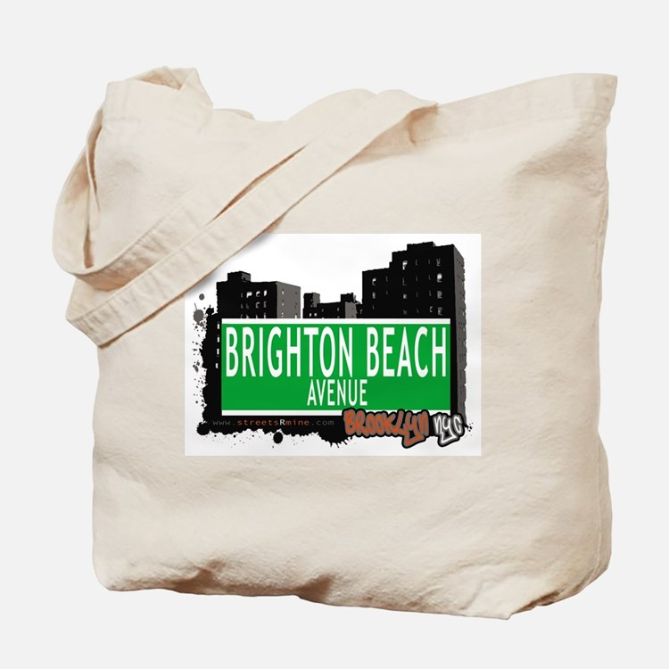 BRIGHTON BEACH AVENUE,BROOKLYN, NYC Tote Bag