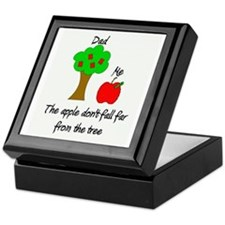 Father's Day Apple Tree Keepsake Box