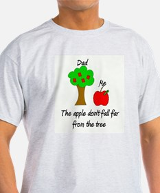Father's Day Apple Tree T-Shirt