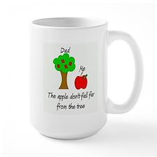 Father's Day Apple Tree Mug