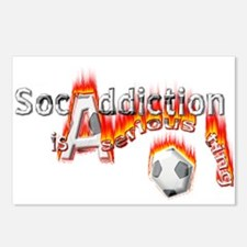 Socaddiction is a serious ting - Postcards (Packag