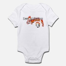 Socaddiction is a serious ting - Infant Bodysuit