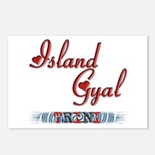 Island Gyal - Trini - Postcards (Package of 8)
