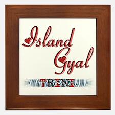 Island Gyal - Trini - Framed Tile