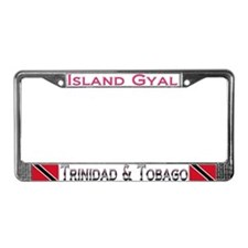 Sweet Home Trini - License Plate Frame