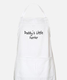 Daddy's Little Farrier BBQ Apron