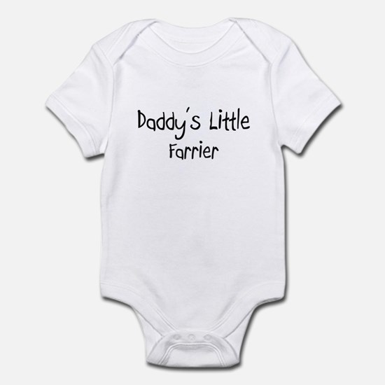 Daddy's Little Farrier Infant Bodysuit