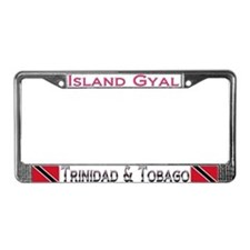 Cute Trini designs License Plate Frame