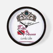 Trini Princess - Wall Clock
