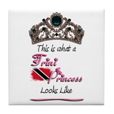 Trini Princess - Tile Coaster