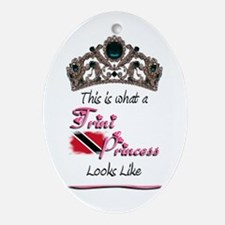 Trini Princess - Oval Ornament