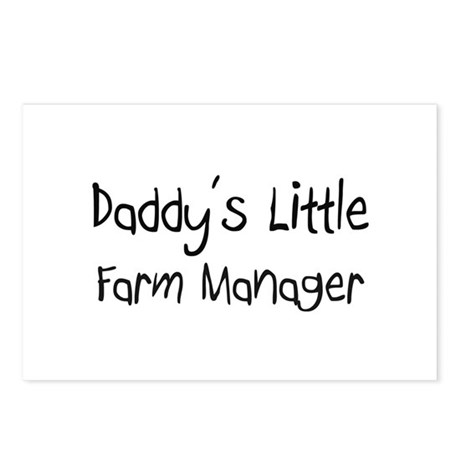 Daddy's Little Farm Manager Postcards (Package of
