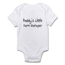 Daddy's Little Farm Manager Infant Bodysuit