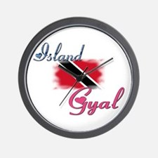 Island Gyal - Trini Wall Clock
