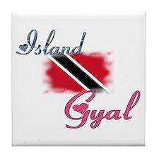 Island Gyal - Trini Tile Coaster