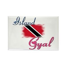 Island Gyal - Trini Rectangle Magnet (10 pack)