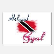 Island Gyal - Trini Postcards (Package of 8)