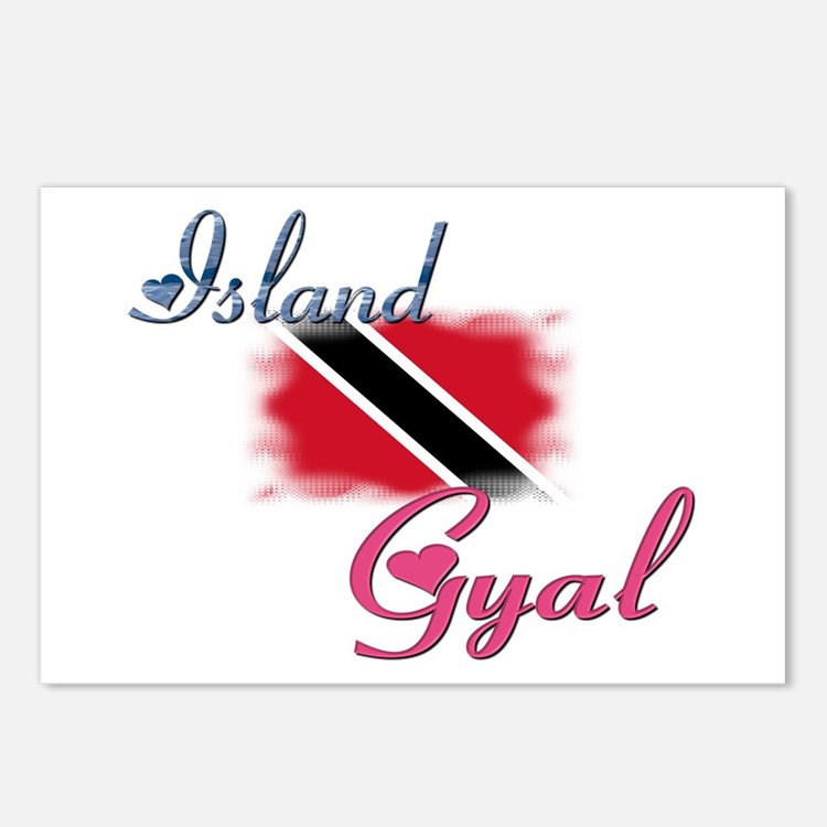 Island Gyal - Trini Postcards (Package of 8)