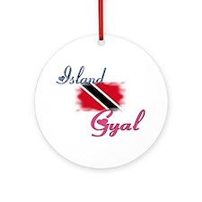 Island Gyal - Trini Ornament (Round)