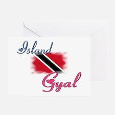 Island Gyal - Trini Greeting Card