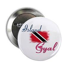 """Island Gyal - Trini 2.25"""" Button"""