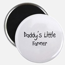 Daddy's Little Farmer Magnet