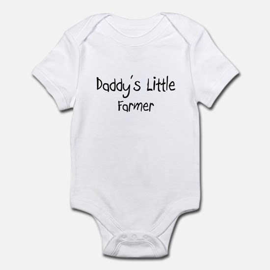 Daddy's Little Farmer Infant Bodysuit
