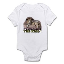 It's good to be The King Infant Bodysuit