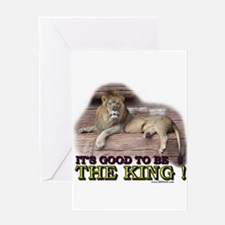 It's good to be The King Greeting Card