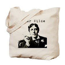 Oscar Wilde with Cigarette Book Bag