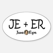 JE+ER Oval Decal