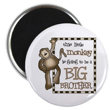 big brother t-shirt monkey Magnet
