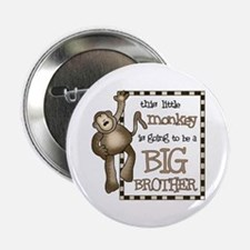 "big brother t-shirt monkey 2.25"" Button"