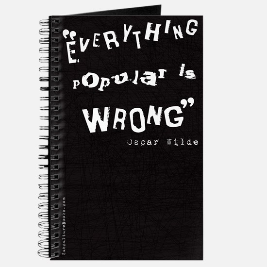 Everything Popular is Wrong Black Journal