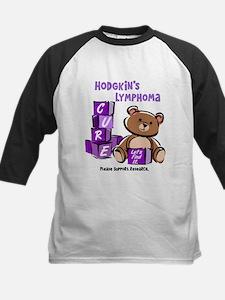 Bear & Blocks 1 Hodgkin's Lymphoma Shirt Tee