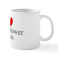 """I Love (Heart) Lawn Mower Races"" Mug"