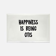 Happiness is being Otis Rectangle Magnet