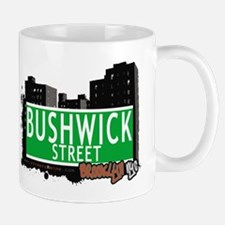 BUSHWICK STREET, BROOKLYN, NYC Mug