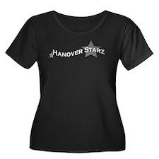 Hanover Starz Women's Plus Size T-Shirt (Black)