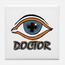 Eye Doctor Tile Coaster